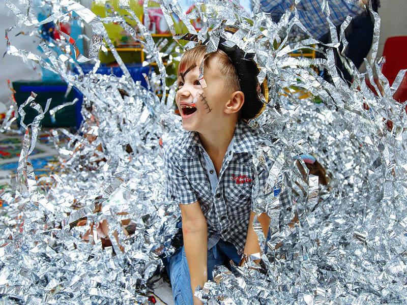 серебряное шоу для детей